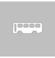 Old Bus computer symbol vector image vector image