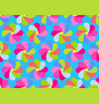 paper colorful petals seamless pattern bright vector image vector image
