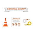 safety first road sign Under Construction vector image vector image