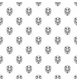 vendetta mask pattern vector image vector image