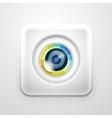 Camera application icon vector image vector image