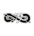 celtic national drawing vector image