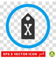 Dead Marker Eps Rounded Icon vector image vector image
