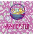 for Easter holiday vector image vector image