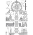 london skyline line art 10 vector image
