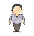 man character adult people avatar male image vector image vector image