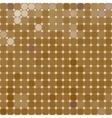SandBricks Mosaic from multi-colored circles vector image