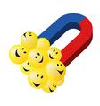 Smiley 2 vector image vector image