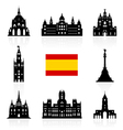Spain Travel Landmarks Symbol vector image