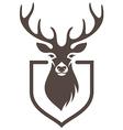 deer symbol hunt vector image
