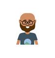 avatar man with t-shirt design