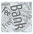 Bank Charges that are a Crime Word Cloud Concept vector image vector image
