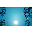 collection halloween night background vector image vector image