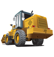 front end loader vector image vector image