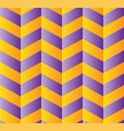 seamless chevron pattern in orange and violet vector image vector image