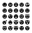 Smiley Icons 1 vector image