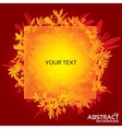 Abstract greeting card for design Eps10 vector image