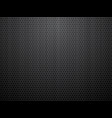 black brushed perforated steel background vector image