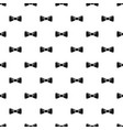 bow tie pattern seamless vector image vector image