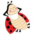 Cartoon Ladybug vector image vector image