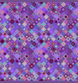 colorful seamless diagonal mosaic pattern vector image vector image