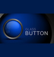empty glass button template for icons vector image