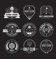 Golf Club Logo vector image vector image