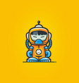 spaceman astronaut character vector image vector image