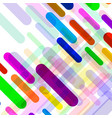 abstract background with colorful geometric lines vector image vector image