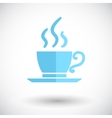 Cafe single icon vector image