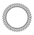 cirular lace mandala style vector image vector image
