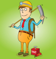 Gold Miner vector image
