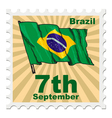 national day of Brazil vector image vector image