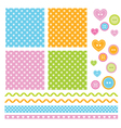 Polka dots scrapbook elements vector | Price: 1 Credit (USD $1)