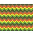 rasta zigzag pattern vector image