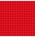 Red Pattern Tetrahedral Mosaic vector image vector image