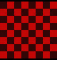 seamless pattern in black and red geometric mosaic vector image vector image
