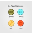 Set of 4 elements