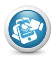 smartphone download vector image