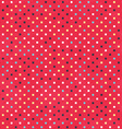 red dots texture with grunge effect vector image