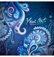 Abstract decorative card design vector image vector image