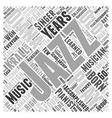 Diana Krall Word Cloud Concept vector image vector image