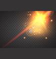 glitter vintage lights background vector image vector image