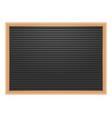 letter board or blackboard for post menu vector image