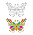 Mandala Butterfly vector image