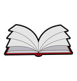 open book icon image vector image vector image