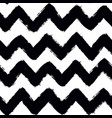 painted chevron pattern seamless brush stroke vector image vector image