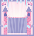 pretty princess party vector image vector image