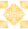 seamless floral damascus wallpaper pattern vector image