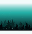 abstract background with trees forest wilderness vector image